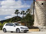 Volkswagen e-Golf (Type 5G) 2017 photos