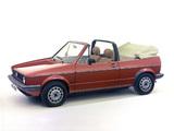 Volkswagen Golf Cabrio (Typ 17) 1979–88 wallpapers