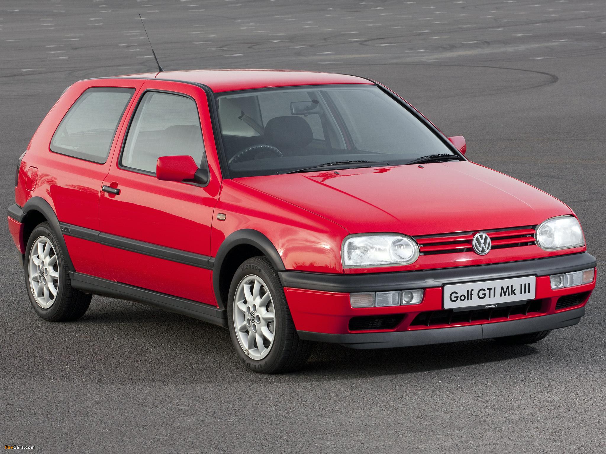 Volkswagen Golf Gti Uk Spec Type 1h 1992 97 Wallpapers