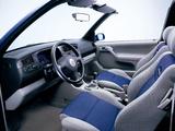 Volkswagen Golf Cabrio Generation (Typ 1H) 1999 wallpapers