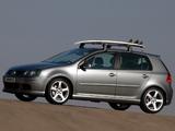 Volkswagen Golf 5-door Lifestyle ZA-spec (Typ 1K) 2004–08 wallpapers