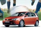 Volkswagen Golf Goal (Typ 1K) 2006 wallpapers