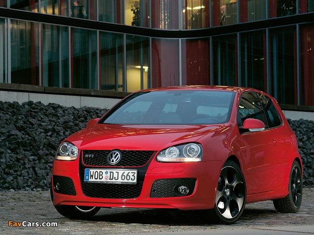 Volkswagen Golf GTI Edition 30 (Typ 1K) 2007 wallpapers (640 x 480)