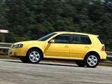 Volkswagen Golf Sportline BR-spec (Typ 1J) 2007–12 wallpapers