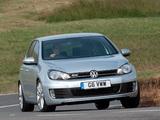 Volkswagen Golf GTD 5-door UK-spec (Typ 5K) 2009 wallpapers