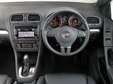 Volkswagen Golf Cabrio ZA-spec (Typ 5K) 2012 wallpapers