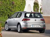 Volkswagen Golf TSI BlueMotion 3-door (Typ 5G) 2012 wallpapers