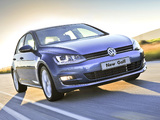 Volkswagen Golf TSI BlueMotion 5-door ZA-spec (Typ 5G) 2013 wallpapers
