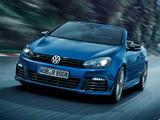 Volkswagen Golf R Cabriolet 2013 wallpapers