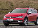 Volkswagen Golf Alltrack UK-spec (Typ 5G) 2015 wallpapers