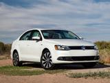 Images of Volkswagen Jetta Hybrid US-spec (Typ 1B) 2012