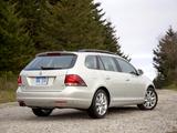 Pictures of Volkswagen Jetta SportWagen US-spec 2009–15