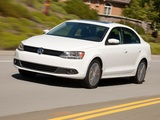 Pictures of Volkswagen Jetta US-spec (VI) 2010