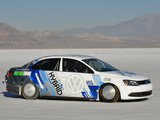 Pictures of Volkswagen Jetta Hybrid Speed Record Car (Typ 1B) 2012