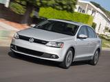 Pictures of Volkswagen Jetta Hybrid US-spec (Typ 1B) 2012