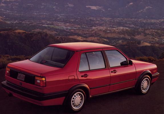 Volkswagen Jetta US-spec (II) 1989–92 pictures