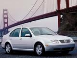Volkswagen Jetta Sedan (IV) 1998–2003 pictures
