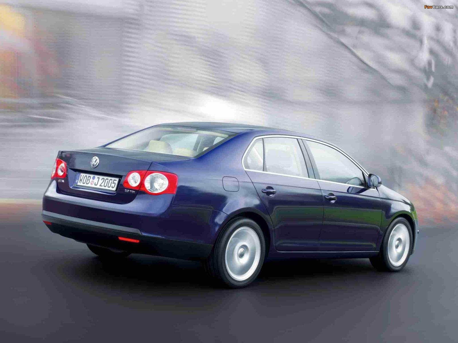 Volkswagen Jetta (V) 2005–10 images (1600 x 1200)