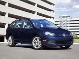 Volkswagen Jetta SportWagen US-spec 2009–15 wallpapers