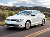 Volkswagen Jetta Hybrid US-spec (Typ 1B) 2012 pictures