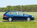Volkswagen Jetta Variant (Typ 1K) 2007–10 wallpapers