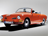 Volkswagen Karmann-Ghia Convertible (Typ 14) 1957–74 pictures
