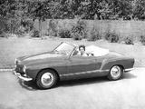 Volkswagen Karmann-Ghia Convertible (Typ 14) 1957–74 wallpapers
