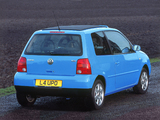 Volkswagen Lupo Sunshine UK-spec (Typ 6X) 2003 pictures