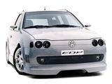 Photos of Volkswagen Parati EDP Concept 1996