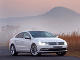 Images of Volkswagen CC BlueMotion ZA-spec 2012