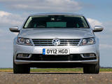 Photos of Volkswagen CC BlueMotion UK-spec 2012