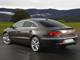 Pictures of Volkswagen CC BlueMotion AU-spec 2012