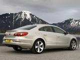 Volkswagen Passat CC GT UK-spec 2008–11 images
