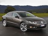 Volkswagen CC BlueMotion AU-spec 2012 images