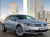 Volkswagen CC BlueMotion UK-spec 2012 images