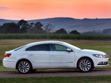Volkswagen CC BlueMotion ZA-spec 2012 pictures