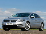 Volkswagen CC BlueMotion UK-spec 2012 wallpapers