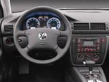 Images of Volkswagen Passat 1.8T Sedan US-spec (B5+) 2000–05