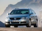 Images of Volkswagen Passat V6 FSI 4MOTION Variant (B6) 2006–10