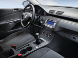 Images of Volkswagen Passat BlueMotion Variant (B6) 2008–10