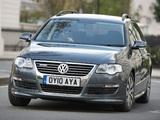 Images of Volkswagen Passat BlueMotion R-Line Estate (B6) 2009–10