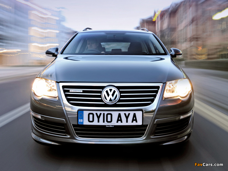 Images of Volkswagen Passat BlueMotion R-Line Estate (B6) 2009–10 (800 x 600)