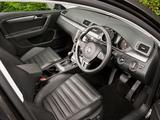 Images of Volkswagen Passat BlueMotion Sport UK-spec (B7) 2010