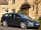 Images of Volkswagen Passat BlueMotion Variant UK-spec (B7) 2010