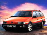 Photos of Volkswagen Passat VR6 Variant (B3) 1991–93