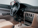 Photos of Volkswagen Passat Sedan (B5) 1997–2000