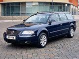 Photos of Volkswagen Passat Variant UK-spec (B5+) 2000–05