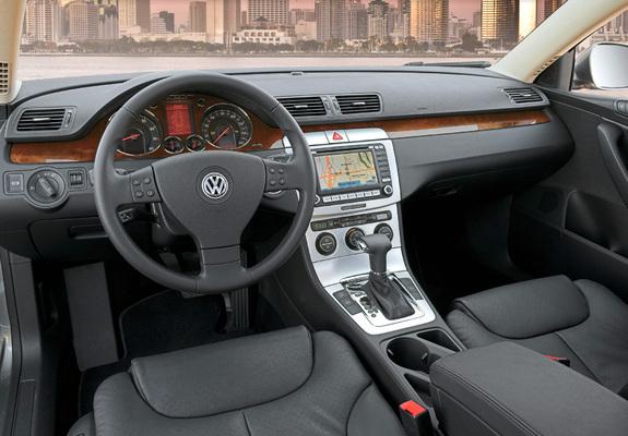 Photos of volkswagen passat sedan us spec b6 2005 10 for Volkswagen passat interior