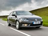 Photos of Volkswagen Passat BlueMotion Sport UK-spec (B7) 2010