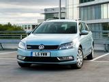 Photos of Volkswagen Passat BlueMotion Variant UK-spec (B7) 2010